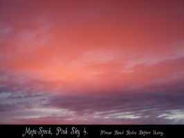 Pink Sky Stock Image 4 by Meta-Stock