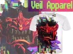 Veil Samurai shirt promo by Veil-Apparel