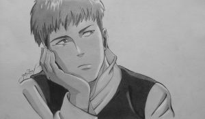 Attack on Titan : Jean Kirstein by Captain1Yazeed