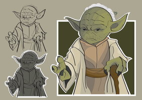 Yoda 2 line construction by LeoJere