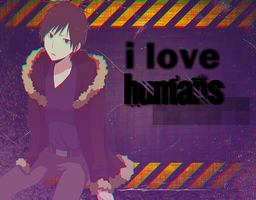 I love humans by heartswithglitter