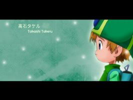 Takaishi Takeru Wallpaper by c-sacred
