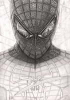 'Spiderman' WIP 40% complete by Pen-Tacular-Artist