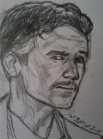 Jim Caviezel as Dr. Stephen Strange by vocaltaffy