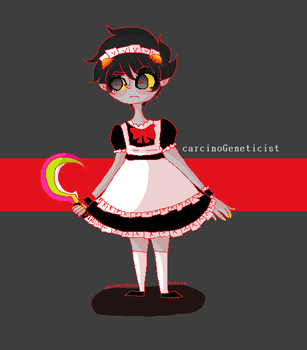 maidstuck karkat by KawaiiNoSekai
