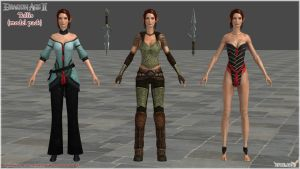 Dragon Age II: Tallis Model Pack by Berserker79