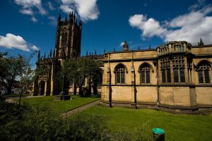 Gothic Church in Manchester by dominik86
