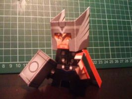 Thor Paper Toy by papertoyadventures