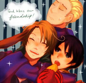APH:WE ARE BFF by Shimejiro
