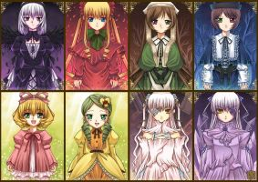 Rozen Maiden Collection by kuridoki
