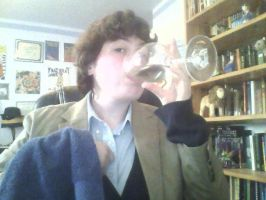 In which I pretend to be Ford Prefect: 3 by Revolution-Nein