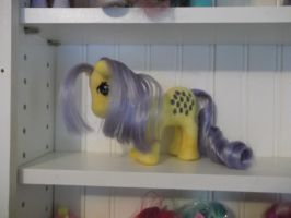 Needle Felted Plush Lemon Drop MLP G1 by imaginaryfriends2012