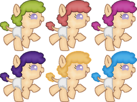 [CLOSED] 1 point Cookie Ponies Adopts by strawbellycake