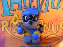 Slycooper charm by Muku-charms