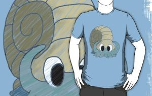 Omanyte Tee by spot1the2dog3