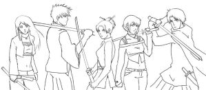 We Cut Our Own Paths WIP- BFRP by isa-chan