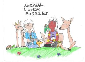 Animal Lover Buddies by 2faced-rider