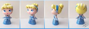 Funko Disney Mystery Mini Cinderella Custom by StephanieCassataArt