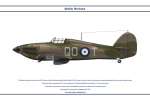 Hurricane GB 3 Sqn by WS-Clave