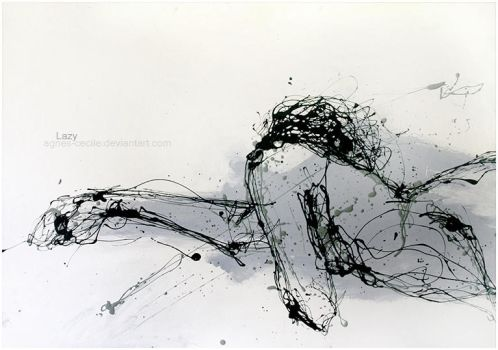 Lazy by agnes-cecile