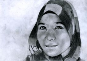 Tudung Girl by Sylarius