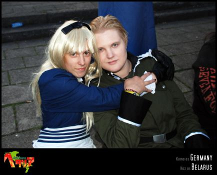 APH-cosplay: Cutest pair ever? by Kumagorochan