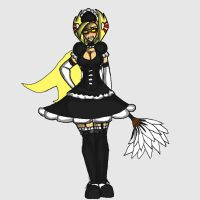 Grieve-tan maid by aweopalta