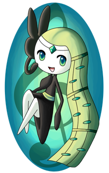 Meloetta by Pikaripeaches