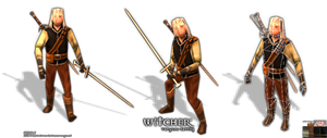 Low Poly Geralt (The Witcher) by Littlenorwegians