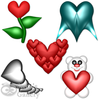 Heart icons by SireaSis
