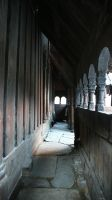 Wooden Church - 6 by mjranum-stock