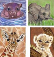 Baby Animals by lettym