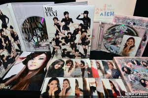 SNSD - The Boys Release Set by HariNgDuga