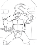 Raph in Action by JesusFreak-4Ever