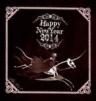 Happy New year 2014 by CottonValent