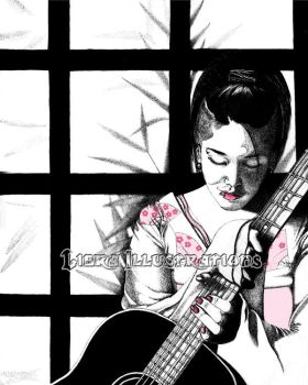 Miyavi WIP by libra-illustrations