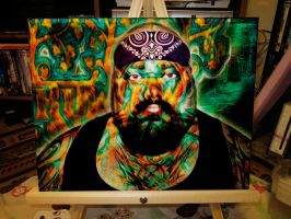 the man behind the art by rowlee