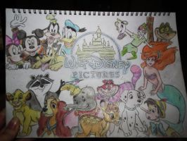 Walt Disney Pictures. by E-m-m-a--J-a-n-e