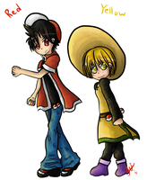 Pokespe - Red and Yellow by Qynat