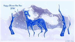 Happy Chinese New Year 2014! by five-pm