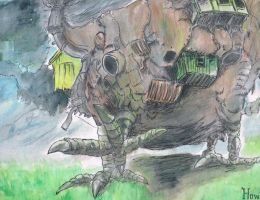 Howls moving castle by samui153
