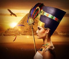 Queen Of The Nile by EnchantedWhispersArt