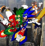 Sonic Riders by RedMcSpoon
