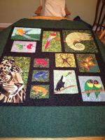 Karen's Rainforest Quilt by Stitchwich