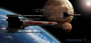 X Wing Fighter 3 by lifeformgraphics