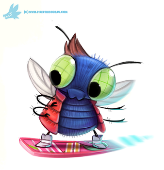 Daily Paint #1065. Marty McFly by Cryptid-Creations