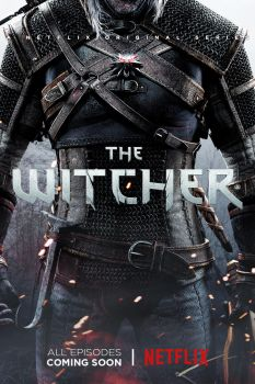 The Witcher Netflix Series Poster by ZaetaTheAstronaut