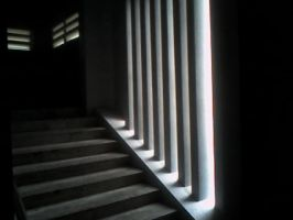 steps and light by taowangus