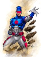 P Commission: Captain Saturn by johnbecaro