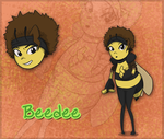 Beedee the honey bee by 1076